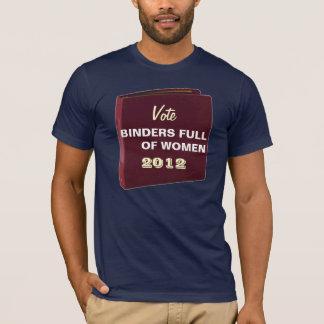 Rösta limbindningfullt av kvinnor 2012 roliga t-shirt