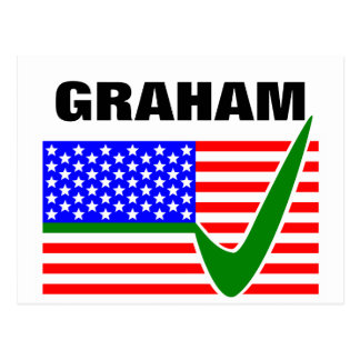 Rösta Lindsey Graham för presidenten 2016 Vykort