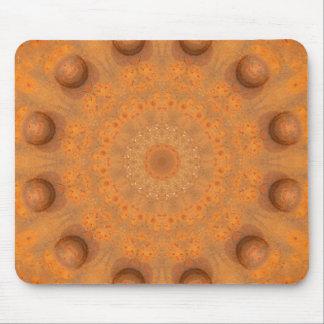 Rosta-Mandala färger av Rust_843_2 Musmatta