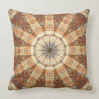 Rosta-Mandalaen färger av rostar Kudde
