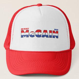 Rösta McCain 2010 val röd vit och blått Keps