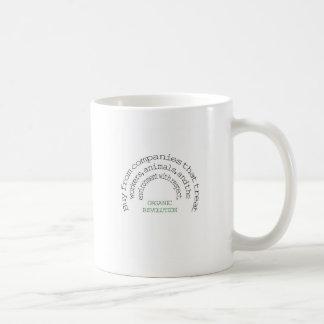 Rösta med din dollar:  Organisk revolution Kaffemugg