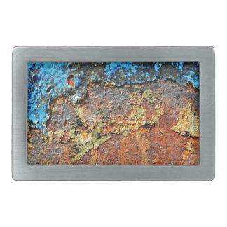 Rosta texturerad metall
