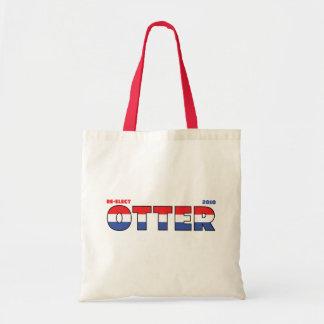 Rösta val röd vit och blått för utter 2010 tygkasse