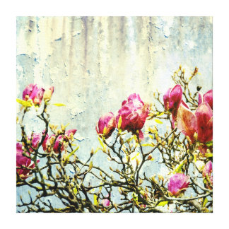 Rostad Magnolia Canvastryck
