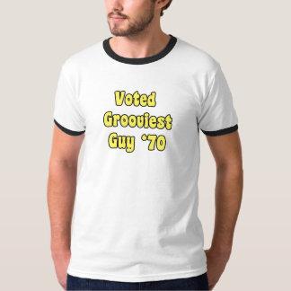 Röstad mest grooviest grabb '70 tröjor