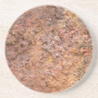 Rostad metall underlägg