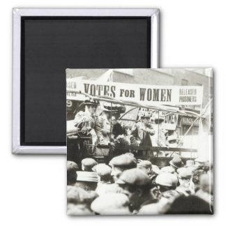 Röstar för kvinnor, Augusti 1908 Magnet