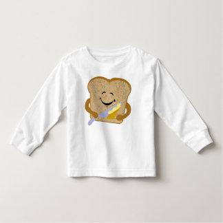 Rostat bröd- och smörskjorta tee shirt