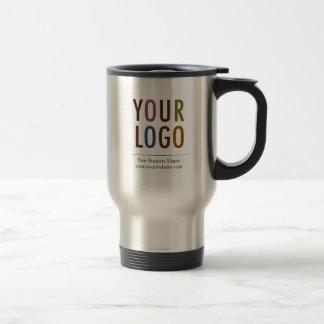 Rostfri travel mug med företagslogotypen ingen resemugg