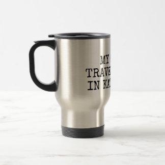 """Rostfritt stål 15 uns """"min annan travel mug… """", rostfritt stål resemugg"""