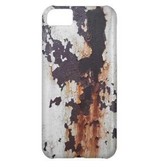 Rostig skalning målar iPhone 5C fodral