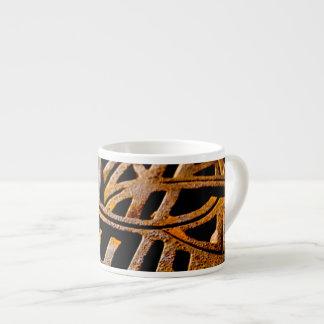 Rostig spisgaller espressomugg