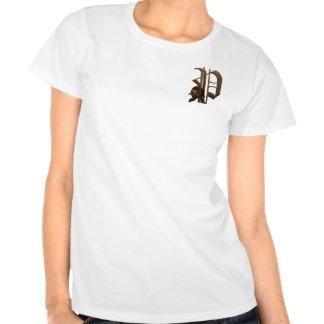 Rostiga riddare märka med sina initialer P Tee Shirts