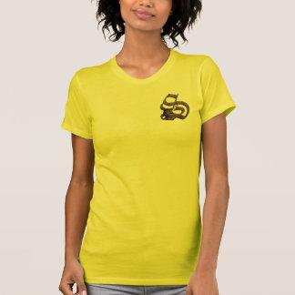 Rostiga riddare märka med sina initialer S T Shirt