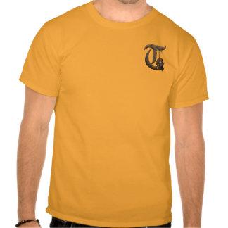 Rostiga riddare märka med sina initialer T Tee Shirt
