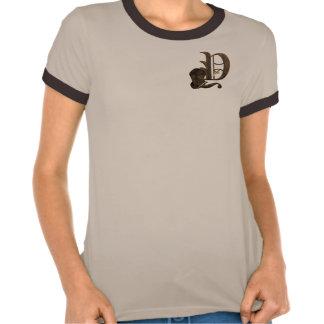 Rostiga riddare märka med sina initialer Y T Shirts