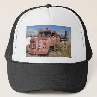 Rostigt avfyra lastbilen truckerkeps