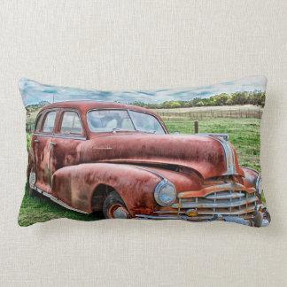 Rostigt för bil för vintage för lumbarkudde
