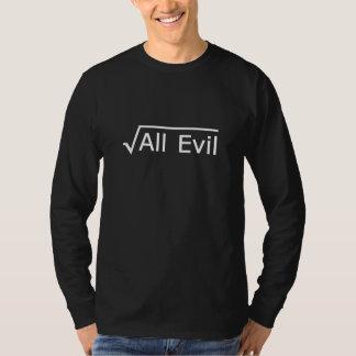 Rota allra ondskan - roligt Mathuttryck T Shirt