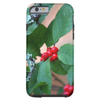 Rött bär Bush Tough iPhone 6 Fodral