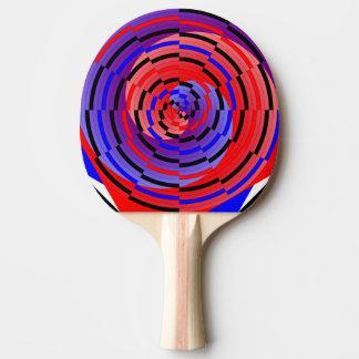 Rött & blått kontra spiral av Kenneth Yoncich Pingisracket