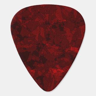 Rött blod plektrum