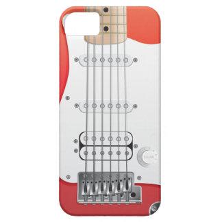 Rött elektriskt fodral för gitarriPhone 5 iPhone 5 Fodraler
