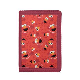 Rött Elmo ansiktemönster