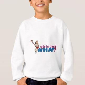Rött enhetligt för flickaLacrossespelare Tee Shirt