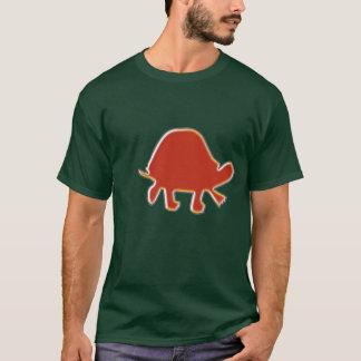 Rött flå fläktsköldpaddaT-tröja Tröja