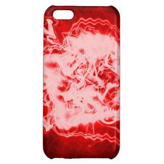 rött fodral för explosion iphone5 iPhone 5C mobil skal