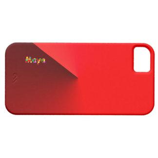Rött fodral för Mayaiphone 5 iPhone 5 Cases