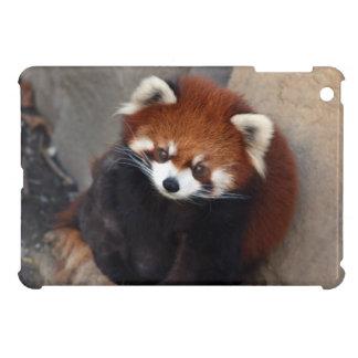 Rött fodral för PandaiPadkortkort iPad Mini Mobil Skal