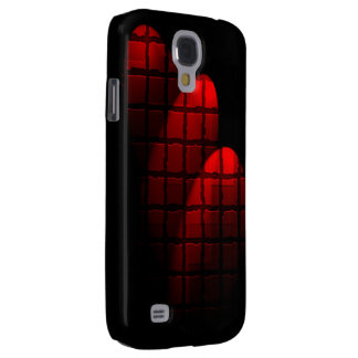 Rött fodral för Samsung galax s4 Galaxy S4 Fodral