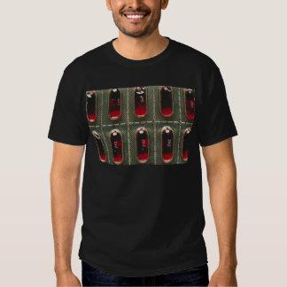 Rött gellock t shirts