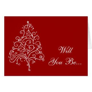Rött gifta sig för jul som ska dig, är min hälsningskort