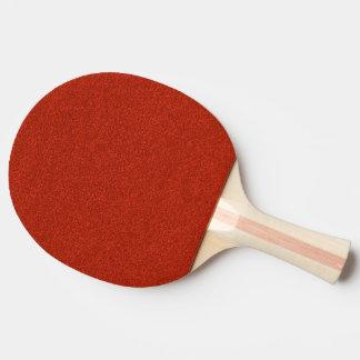 Rött glitter pingisracket