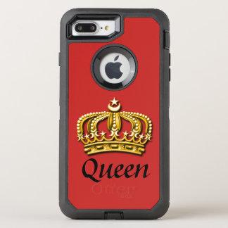 Rött & guld- Otterbox fodral för drottning