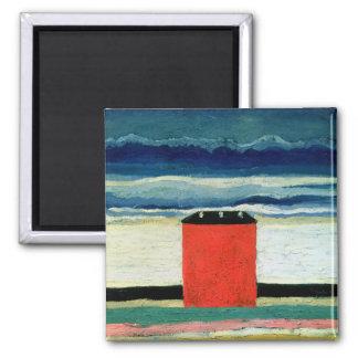 Rött hus, 1932 magnet