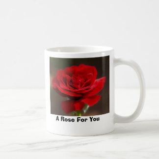 Rött Kaffemugg