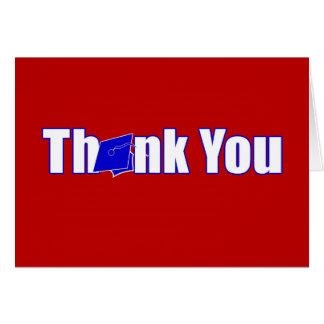 Rött kort för tack för &Bluepersonligstudenten