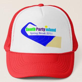 Rött lock för södra partyöpåsklov truckerkeps