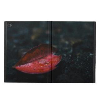 Rött löv för höst powis iPad air 2 skal