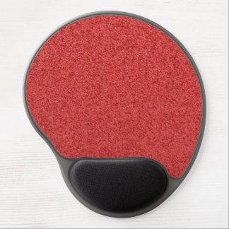 Rött matta gelen Mousepad Gelé Musmatta