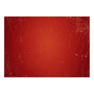 Rött mönster för Retro vintagetomat. Modefärg Visitkort Mall
