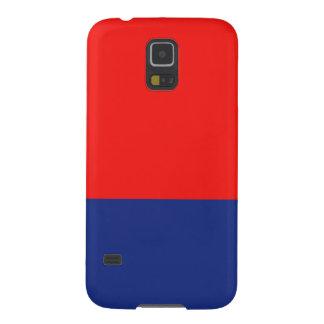 Rött och Blått-Rand Galaxy S5 Fodral