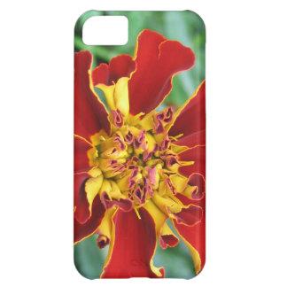Rött och gult iPhone 5C fodral