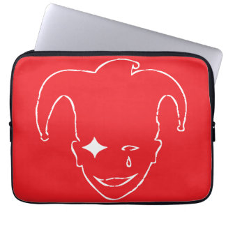 Rött och vit MTJ Laptop Fodral