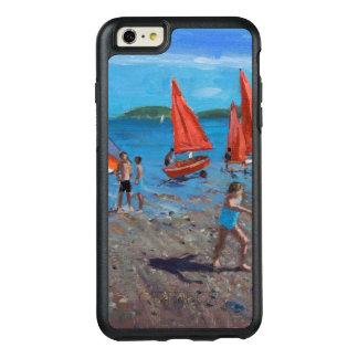 Rött och vit seglar Abersoch OtterBox iPhone 6/6s Plus Skal